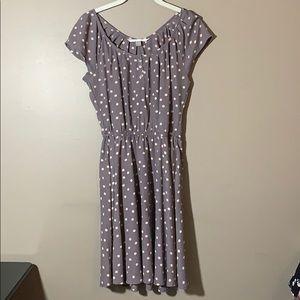 Polka dot dress!!